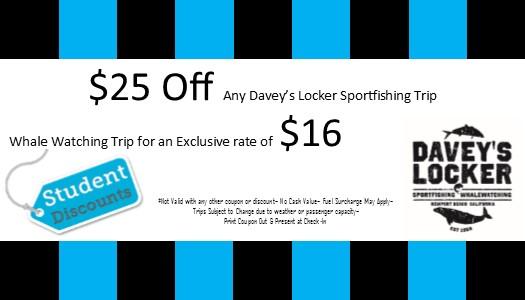 $10 WW $25 off fishing_studentcoupon