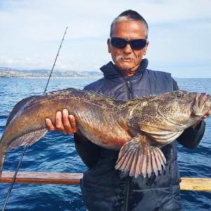 Crazy 23lb lingcod caught a few days ago gottaloveit for Deep sea fishing dana point
