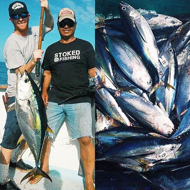 Stoked On Fishing For Sure Tunatime Gonefishing