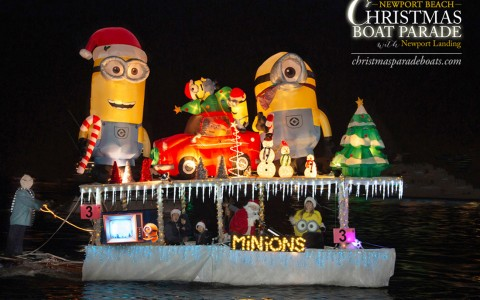 The Newport Beach Christmas Boat Parade is just around the corner!