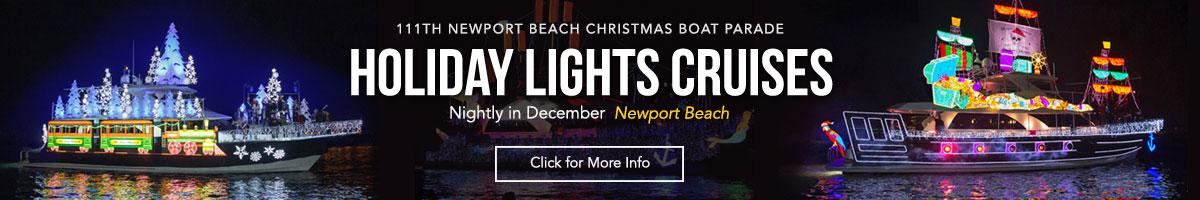 Christmas Parade Cruises and Holiday Lights Cruises