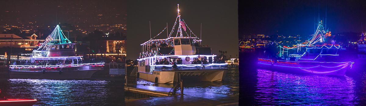 rental yachts newport beach christmas boat parade